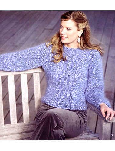 modele tricot mohair gratuit