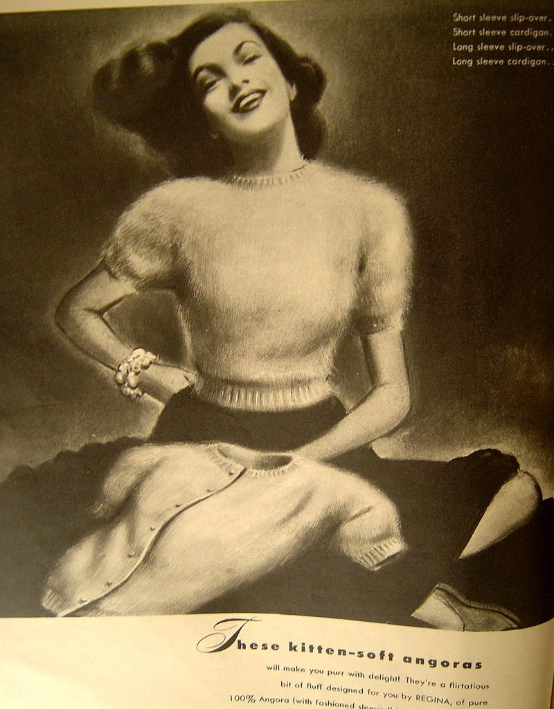 patron tricot annees 50